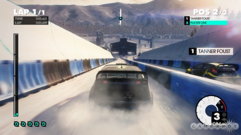 Snow isn't the only hazard awaiting Dirt 3's players.