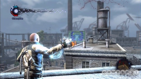 Crackdown + Force Unleashed = Infamous