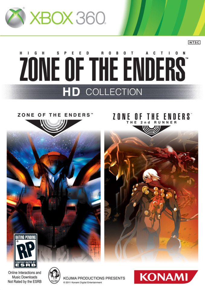 Zone of the Enders HD Collection arrives at retail this fall.