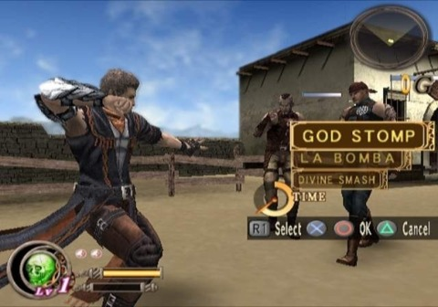 An over-the-top fighting game directed by Shinji Mikami, God Hand was also the last Clover Studios game released.