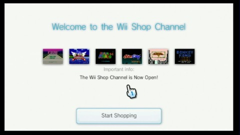 Just in time for the Wii launch, here comes the Virtual Console.