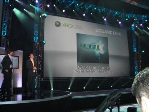 Can Microsoft top the FFXIII-a-ton?
