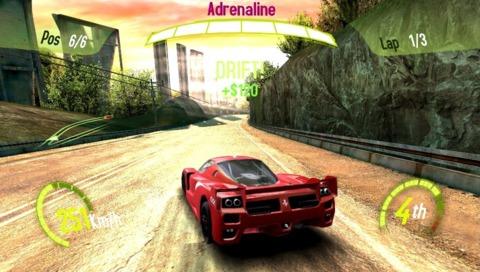 Ubisoft's Asphalt is speeding to the PS Vita.