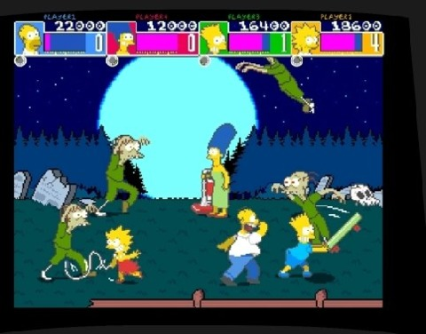 The Simpsons family was popular in February on the PSN.