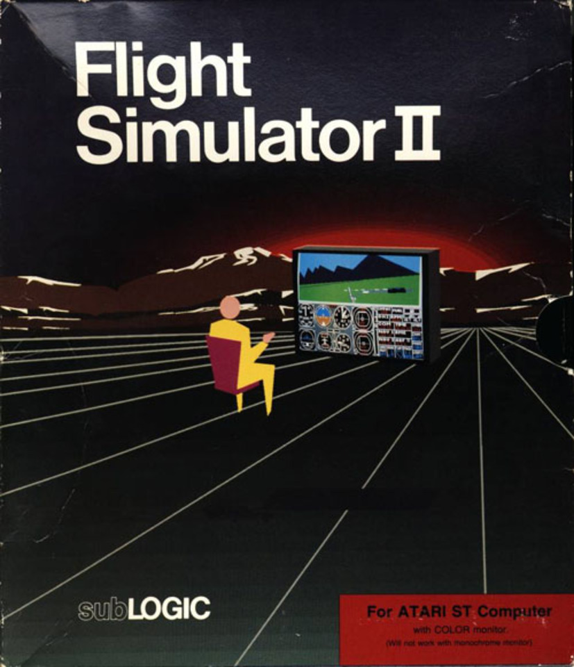 Croromano's Review of Flight Simulator II - GameSpot