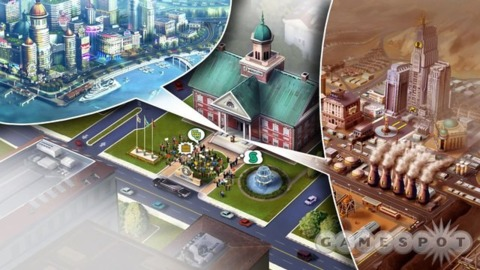 To build cities you must have an Internet connection, says EA.