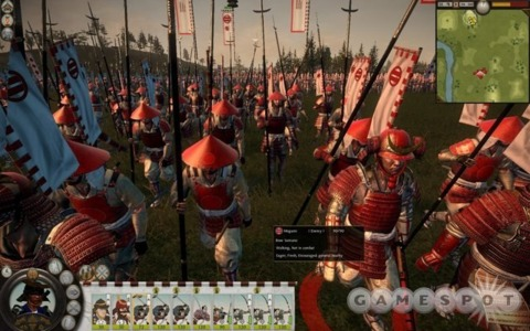 The Total War series was already marching on before Shogun 2 was done.