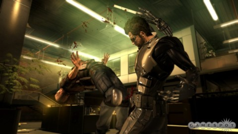 Deus Ex topped a light month at retail.