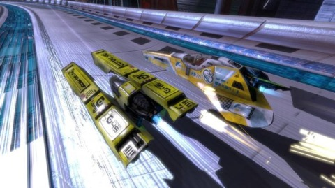Wipeout HD will be the first month's big freebie for PSN Plus.