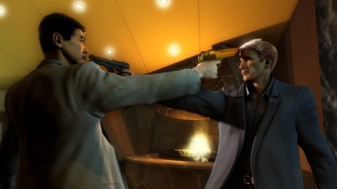 Stranglehold's standoffs helped change up the game's pacing.