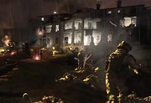 The new Modern Warfare 2 trailer shows the White House under siege by a lot more than the press corps.