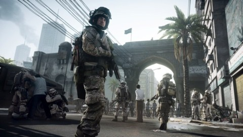 Battlefield 3 is EA's bid to carve out a bigger foothold in the shooter genre.