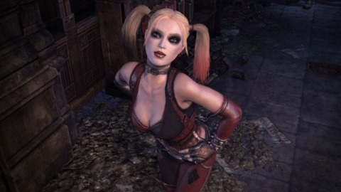 Is Harley Quinn the focus of Arkham City's next DLC?