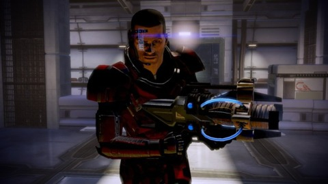 Shepard's weapon never misfires