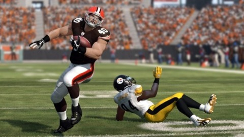 There are now 400,000 more reasons to be absurdly good at Madden NFL 12.