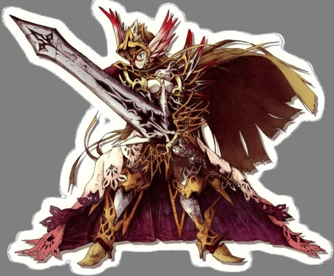 Knights in the Nightmare's art was almost as complex as its gameplay.