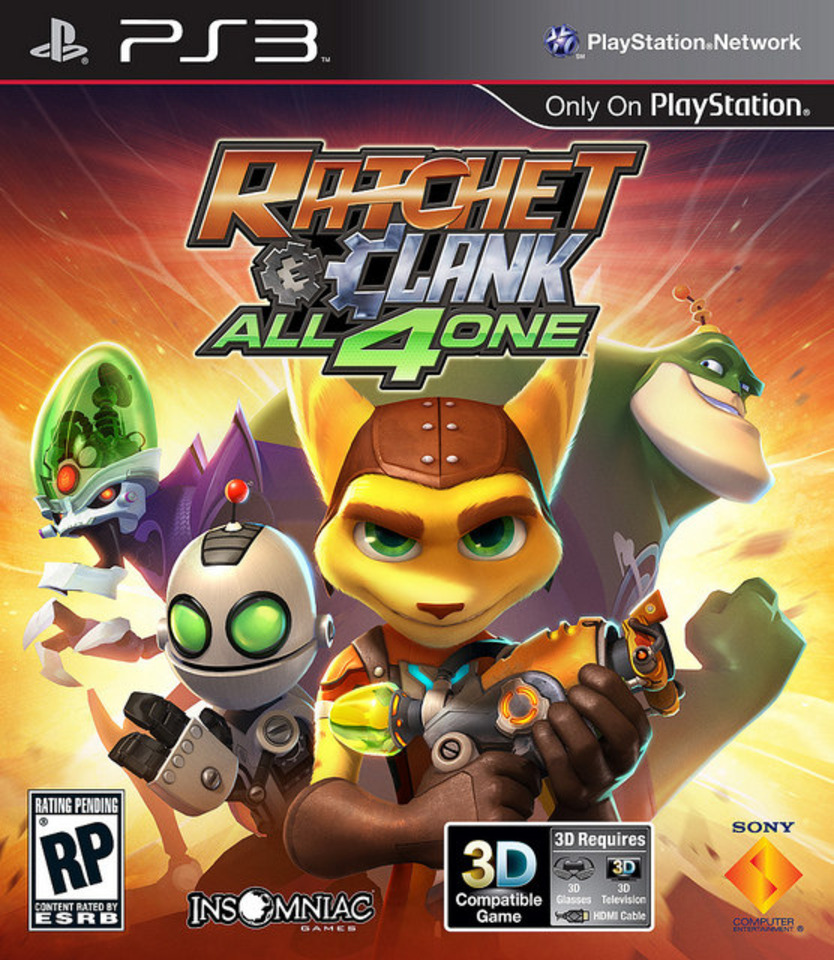 Ratchet & Clank get cracking again on October 18.