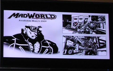 Madworld, in living non-color.