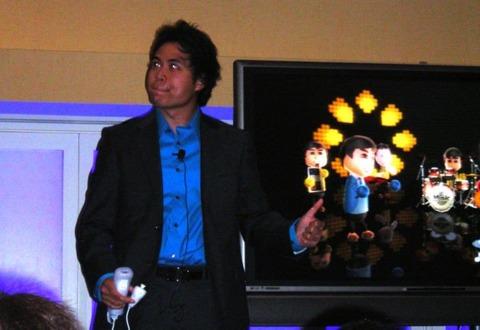 JC Rodrigo rocks out with Wii Music.
