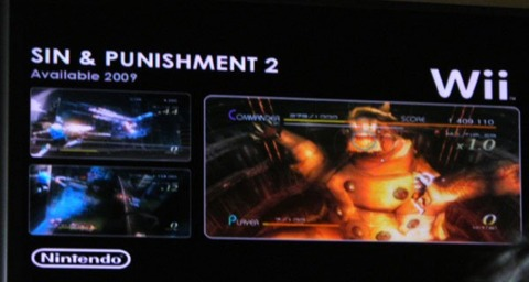 Sin and Punishment 2 is coming to America.