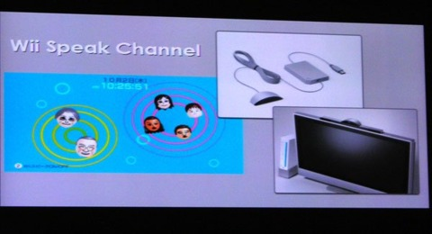 Hopefully Wii don't speak too loudly.