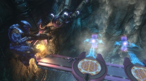 Halo's Kinect functionality has yet to be detailed.