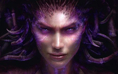 StarCraft II: Heart of the Swarm will feature anti-heroine Sarah Kerrigan.