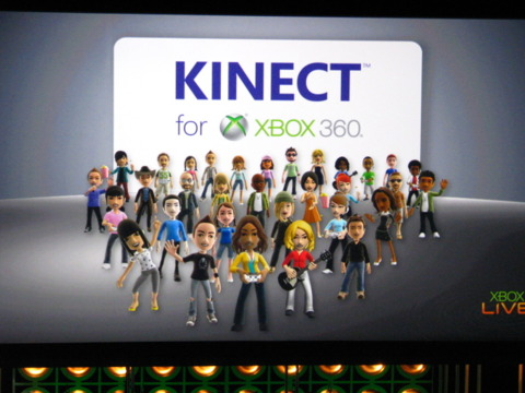 Time to talk Kinect.