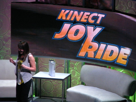 Kinect Joy Ride: No steering wheel required.