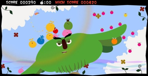 LocoRoco are apparently keen on butterflies.