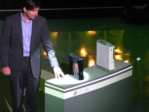The new Xbox 360 unveiled.