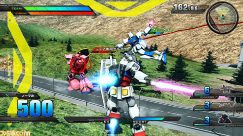 Take your mecha for a spin…to the EXTREME! (image credit: Famitsu.com)