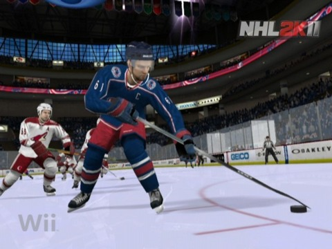 NHL 2K12 won't even make an appearance on the Wii.