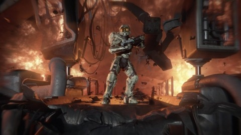 Master Chief will play front and center in The Reclaimer Trilogy.