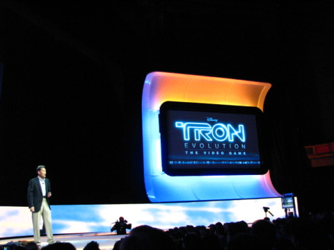 Tron Evolution will be among Sony's 3D lineup.