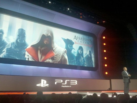 Assassin's Creed: Brotherhood will get an exclusive beta test on the PS3.