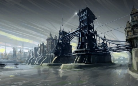 Arkane drew inspiration form 16th-century London for Dishonored's setting.