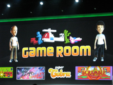 Game Room for Xbox Live was one of the big gaming announcements at CES 2010.