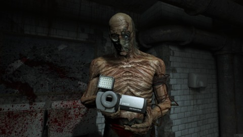 That mummy stole your camcorder!