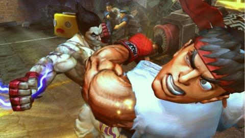 Street Fighter X Tekken X Infamous.