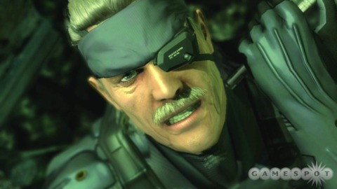 Solid Snake is apparently not ready for his close-up, Mr. De Mille.