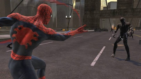 The last Spider-Man game was 2008's comic-book-based Web of Shadows.