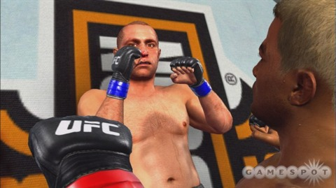 UFC left THQ's old quarterly record bloody and hurt.