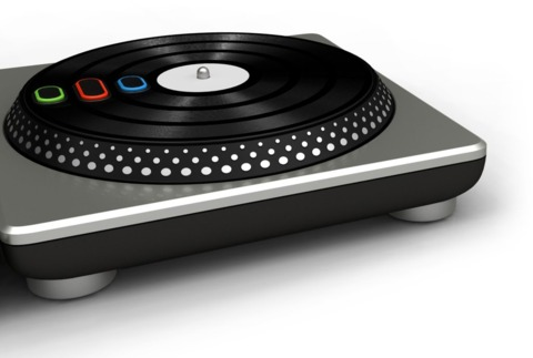 One turntable, no microphone.