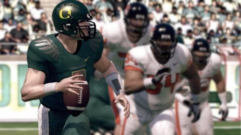 EA's NCAA Football 11 was the top scorer in July.