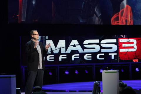 Dr. Ray here to announce that Mass Effect 3 will support Kinect.