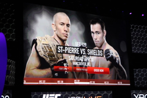 Watch and control UFC fights using Kinect.