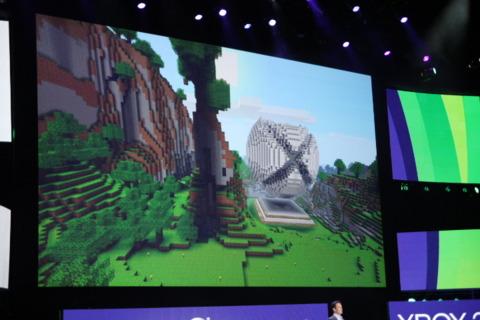 Minecraft on… Kinect?