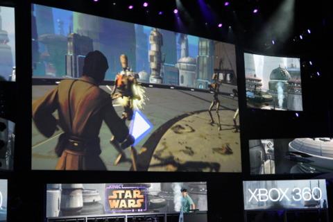 Kinect Star Wars.