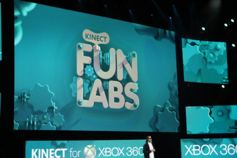 Announcing Kinect Fun Labs.